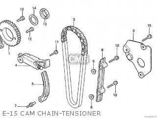Honda Cx500tc 1982 c E-15 Cam Chain-tensioner