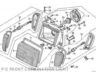 Honda Cx500tc 1982 c F-2 Front Combination Light