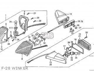 Honda Cx500tc 1982 c F-28 Winker