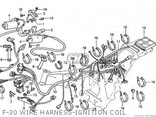 Honda Cx500tc 1982 c F-30 Wire Harness-ignition Coil