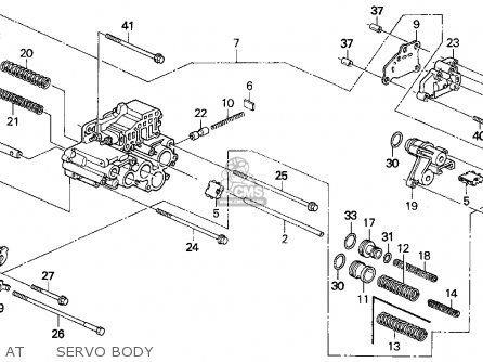 Honda Del Sol 1993 P 2dr Si Kakl Parts Lists And Schematics