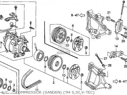 Sanden Compressor Wiring Diagram