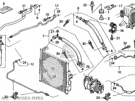 1993 Honda Del Sol Fuse Box Diagram on wiring harness for 1997 honda civic