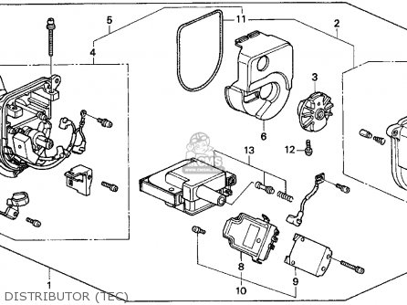 93 Civic Si Fuse Box Diagram
