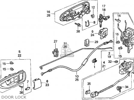 Honda Civic Door Parts Diagram likewise 667125 Location Relay Fuel Pump additionally 95 Accord Engine Diagram moreover 93 Honda Del Sol Engine besides Trane Heat Pump Wiring Diagram. on 1995 honda civic ex fuse box diagram