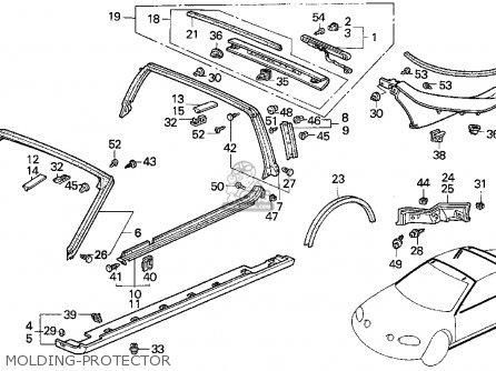 94 Honda Del Sol Del Schaltplan