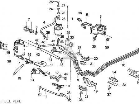 Honda Del Sol 1995 S 2dr V Tec Abs Ka Parts Lists And Schematics