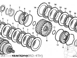 honda element 2003 3 5dr ex 4wd ka parts lists and schematics Honda CRX Schematics at clutch 3rd 4th