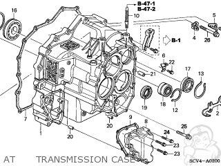honda element 2003 3 5dr ex 4wd ka parts lists and schematics Honda Ridgeline Schematics honda element 2003 3 5dr ex 4wd ka at transmission case