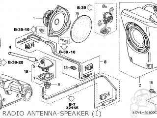 Honda Element 2003 3 5dr Ex 4wd Ka Parts Lists And Schematics
