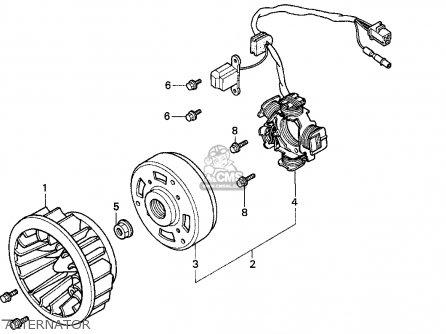 honda ez90 1996 t usa parts list partsmanual partsfiche. Black Bedroom Furniture Sets. Home Design Ideas