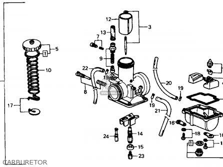 Honda Fl350r Odyssey 350 1985 f Usa Carburetor
