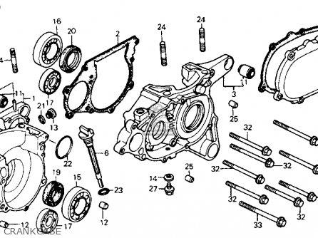 Brake Parts For The 1985 Honda Fl350r Odyssey