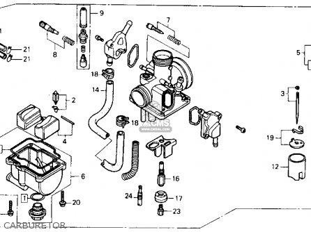 Honda Fl400r Pilot 1990 Usa Carburetor