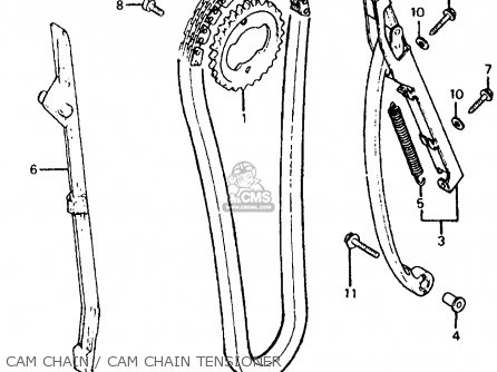 cam chain / cam chain tensioner