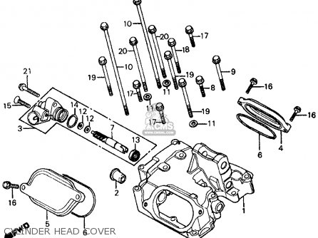 1980 Honda Civic Headlight Wiring Diagram