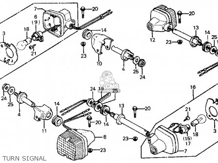 Honda Ft500 Ascot 1982 C Usa Parts Lists And Schematics