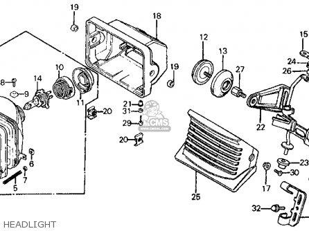 honda ft500 ascot 1983 d usa parts lists and schematics. Black Bedroom Furniture Sets. Home Design Ideas