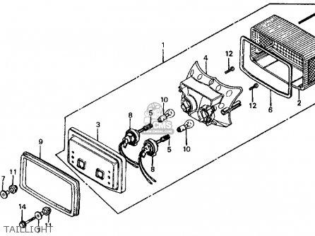 honda ft500 ascot 1983 d usa parts list partsmanual. Black Bedroom Furniture Sets. Home Design Ideas