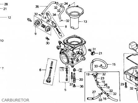 Honda Gb500 Touristtrophy 1989 k Usa Carburetor