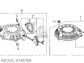Honda Gcv135 A2g4 14zm01e4 Parts Lists And Schematics