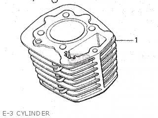 Honda Gl100 1981 b Malaysia E-3 Cylinder