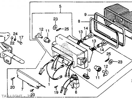 Honda Gl1000 Wiring Diagram on honda sl100 wiring diagram