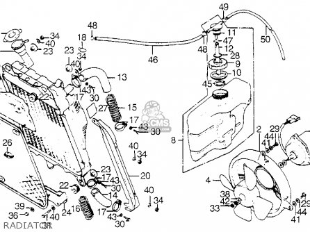 1975 Goldwing Wiring Diagram