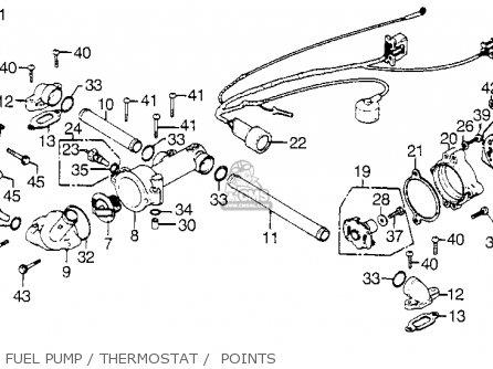 honda gl1000 goldwing 1975 k0 usa parts list partsmanual. Black Bedroom Furniture Sets. Home Design Ideas