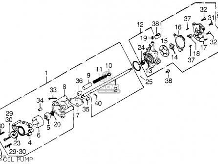 honda gl1000 goldwing 1975 k0 usa parts list partsmanual ... 1975 honda goldwing wiring diagram 1981 honda goldwing wiring diagram