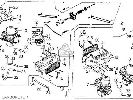 1200 goldwing carburetor wiring diagram goldwing 1100 wiring diagram honda gl1000 goldwing 1976 usa parts lists and schematics