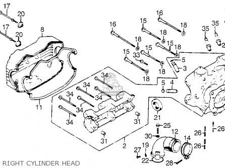 Pleasant Honda Gl1000 Goldwing 1976 Usa Parts Lists And Schematics Wiring Digital Resources Funapmognl