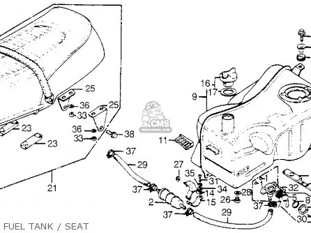 Honda Gl1000 Goldwing 1977 Usa Parts Lists And Schematics