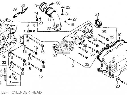 honda gl1000 goldwing 1977 usa parts list partsmanual ... gl1800 wiring diagram cd player gl1800 engine diagram #7