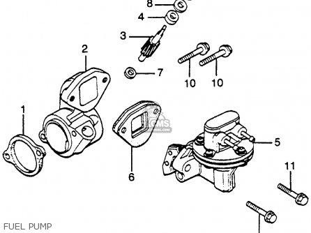 Honda Gl1000 Goldwing 1978 Usa Parts Lists And Schematics
