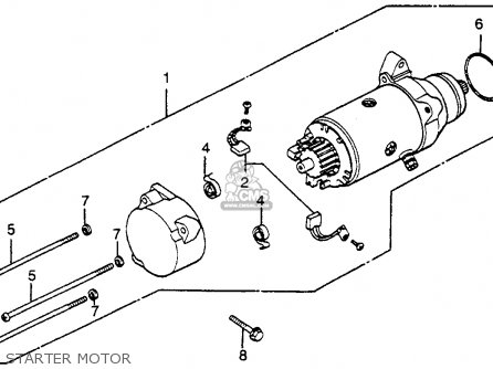 Honda Gl1000 Engine Internal Diagram