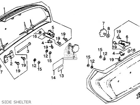 1978 Honda Nc50 Wiring Diagram as well S Super B Carburetor Diagram furthermore Honda Ct90 Carburetor Schematic together with Partslist additionally Partslist. on honda gl1000 parts