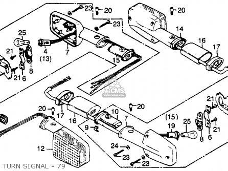 Honda Gl1000 Goldwing 1979 Z Usa Parts Lists And Schematics