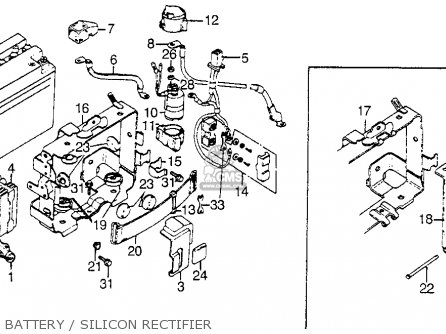 1988 honda goldwing wiring diagram 1976 1000 cc honda goldwing wiring diagram #6