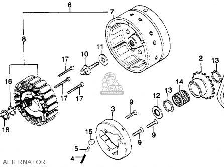 Honda Gl1100 Goldwing 1980 a Usa Alternator