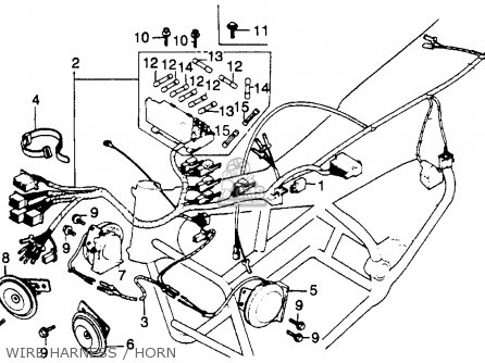Partslist on Honda Cb750 Front Brake