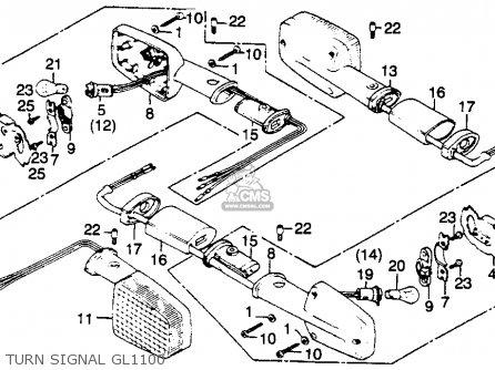 1992 Gl1500 Wiring Diagram