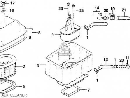honda gl1100 goldwing 1982 c usa parts list partsmanual. Black Bedroom Furniture Sets. Home Design Ideas