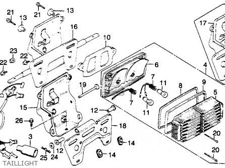 81 Honda Goldwing 1100 Wiring Diagram