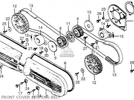 Honda Motorcycle Parts 1983 Gl1100 A Carburetor Comp I Diagram
