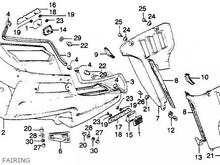 honda gl1100a goldwing aspencade 1982 c usa parts lists. Black Bedroom Furniture Sets. Home Design Ideas
