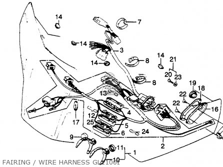 1978 Honda Goldwing Wiring Diagram Besides 2008 Honda Goldwing