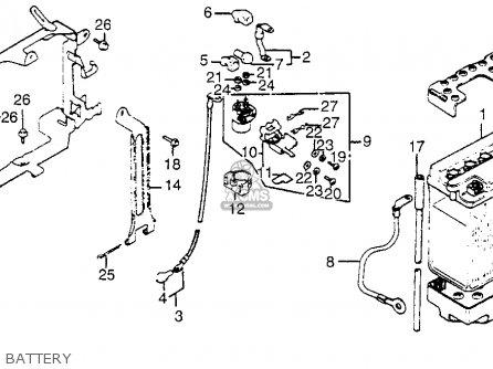 Honda Gl1100i Goldwing Interstate 1983 d Usa Battery