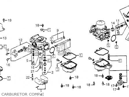 Honda Gl1100i Goldwing Interstate 1983 d Usa Carburetor Comp  I