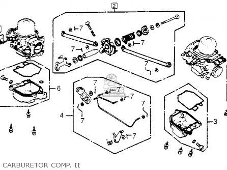 Honda Gl1100i Goldwing Interstate 1983 d Usa Carburetor Comp  Ii